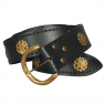 Knightly Belt with antiqued roses