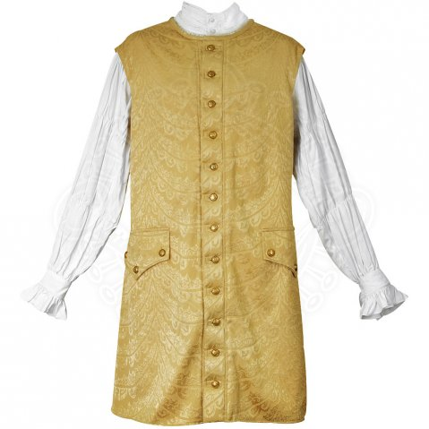 Long Vest gold Gentleman