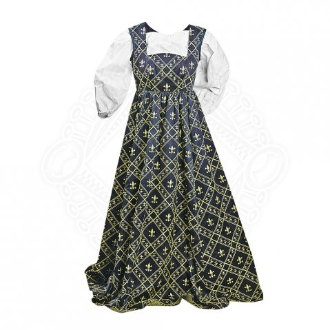 Fleur de Lis Dress blue - sale