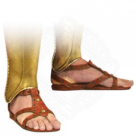 Ancient brown sandal - sale