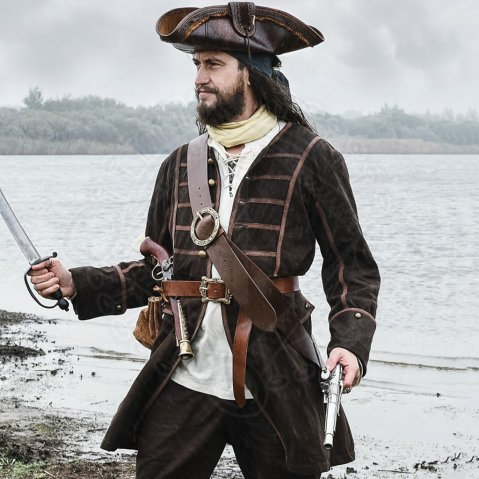 Pirate's Coat Gabin, Justaucorps