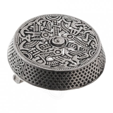 Small Viking Box Brooch Gotland