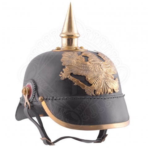 Prussian Pickelhaube 1889, leather