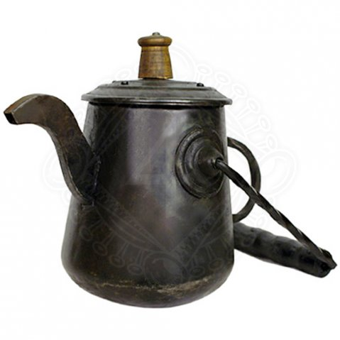 Metal kettle over open fire 1L