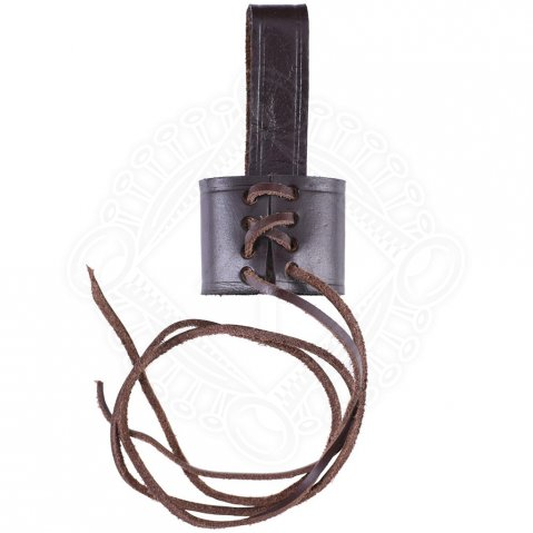 Adjustable Belt Holder for Daggers brown