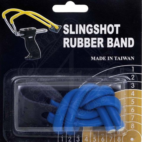 Spare sling rubber blue