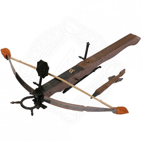 Decorative medieval crossbow 24