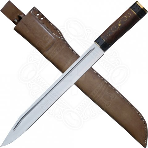 Sax knife with a noble handle