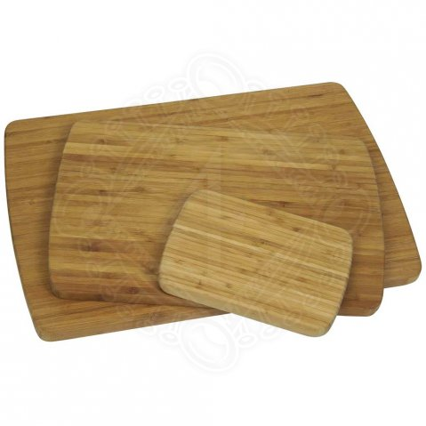 Bamboo cutting boards, 3 pieces