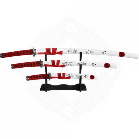 Samurai swords Red&White