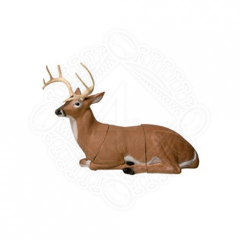 Bedded Deer 3D Animal target