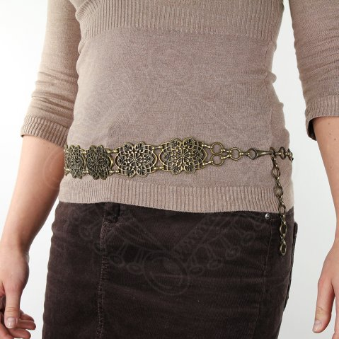 Chain belt Debora - set of 5