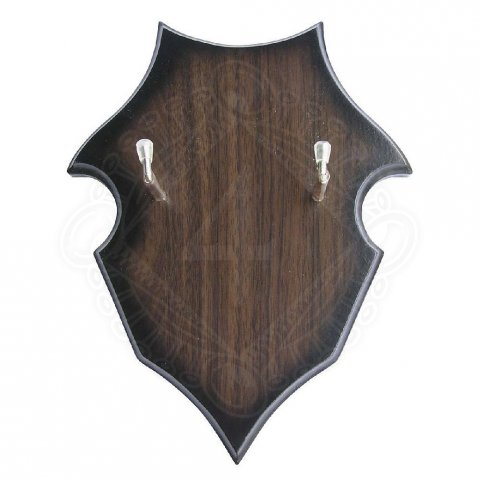 Wooden wall panel you can hang up your sword on