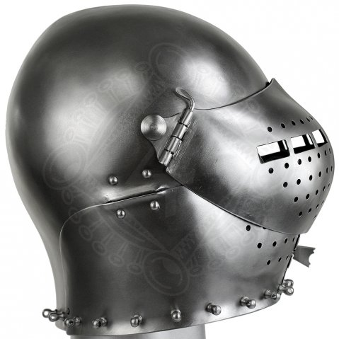 Early Armet c1410 to the Churburg Harness S18
