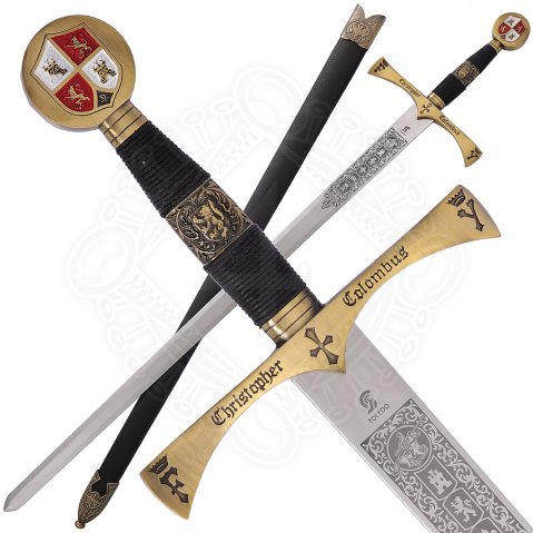Sword Columbus with optional sheath