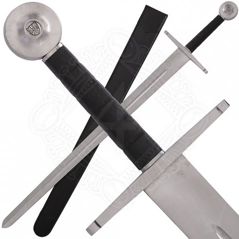 Combat sword Hattin with optional sheath, Class C