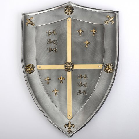 Shield Black Prince 63x46cm with antiqued finish