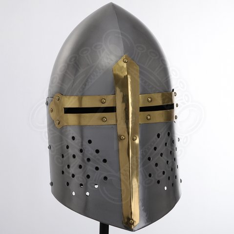 English Sugarloaf Helmet, size of the original exemplar