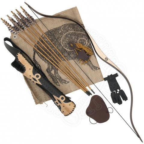 Archery Set Black Horse