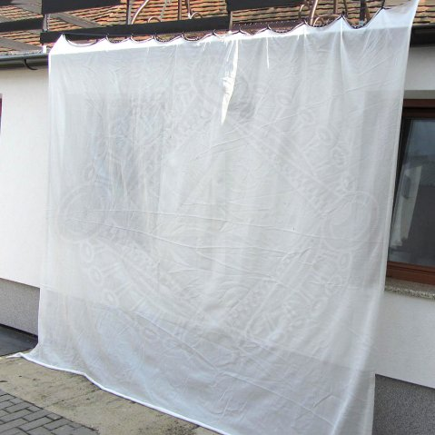 Archery Backstop Curtain white 2,7m high
