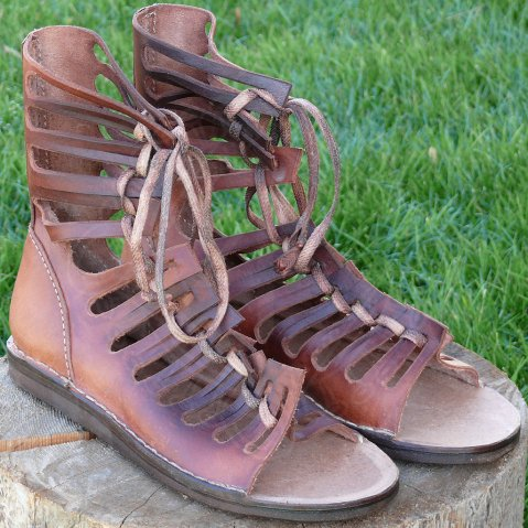Caligae - Roman Marching Boots,
