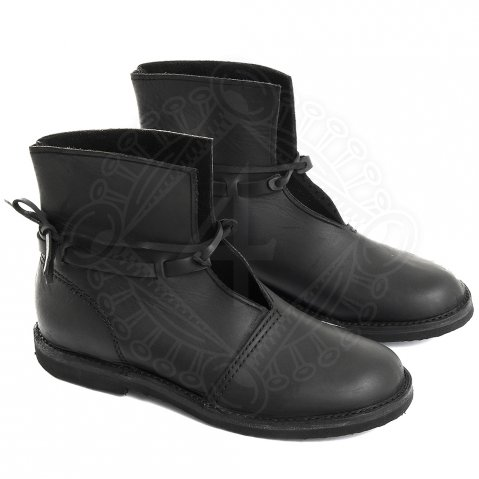 Leather half boots German Knight