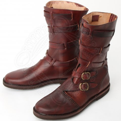Leather half boots Duke