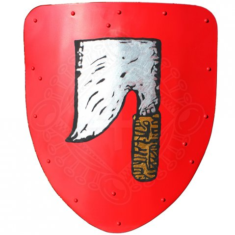 Guild shield with adze