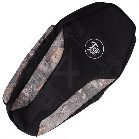 Crossbow case Tell® Sport black + camo