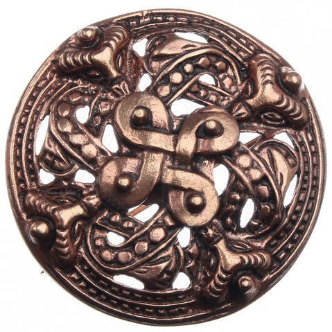 Viking fibula Four Elements, 59 mm