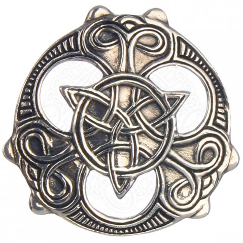 Pendant 'Celtic Shield', 31 mm