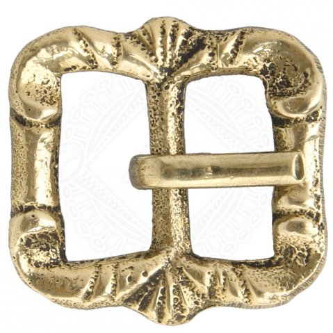 Brass buckle No. 25, Late Middle Ages