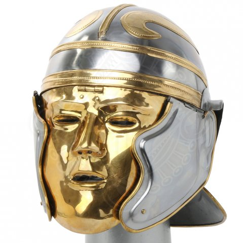 Imperial Gallic helmet with face mask