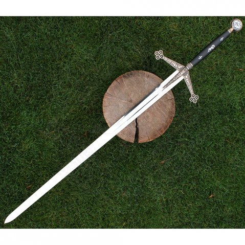 Decorative Claymore Sword with Plaquette