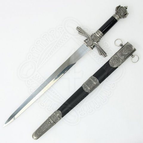Beautifully decorated dagger