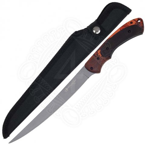 Outdoor Fillet Knife, orange / camo