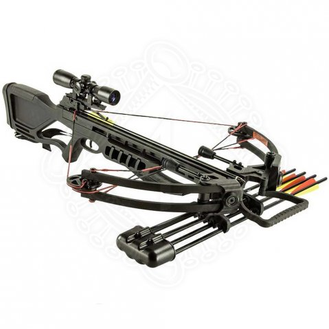 Compound crossbow Man Kung Hawk® 400 Black 175 lbs
