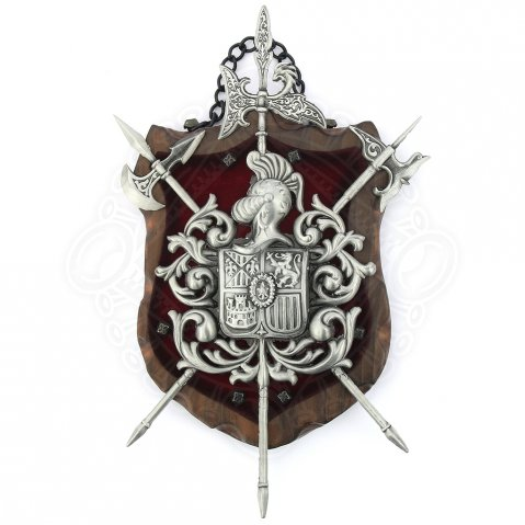 Decorative wall shield
