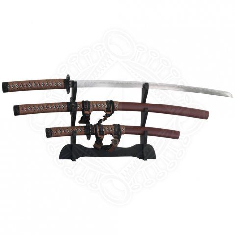 Samurai swords Tachi, 4 Piece Set