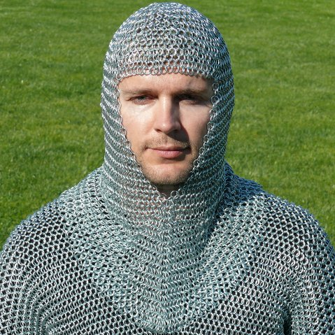 Chain mail coif