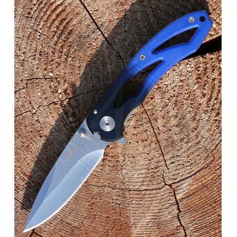 "Pocket knife ""Dark Blue I"""