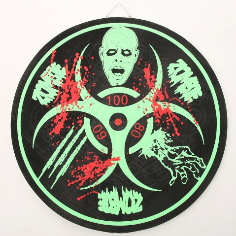 Target for throwing knives Zombie Dead