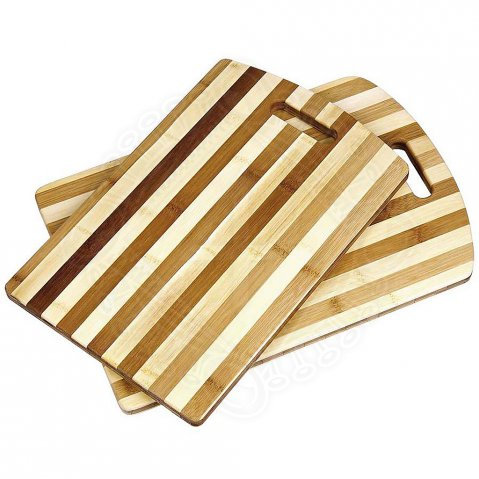 Striped Bamboo Cutting Boards