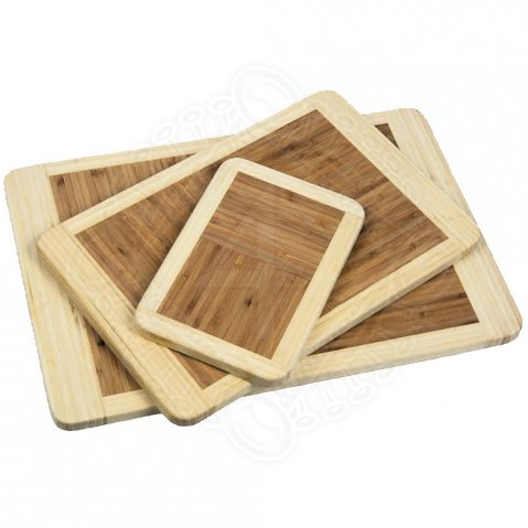 Bamboo cutting boards, 3 pieces - Sale
