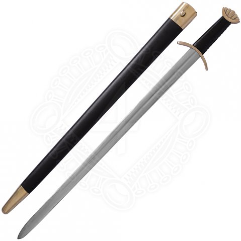 Decorative five-lobe style Viking Sword