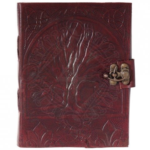 Tree of Life Leather Diary
