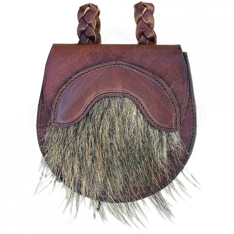 "Leather bag ""Caledonia"""