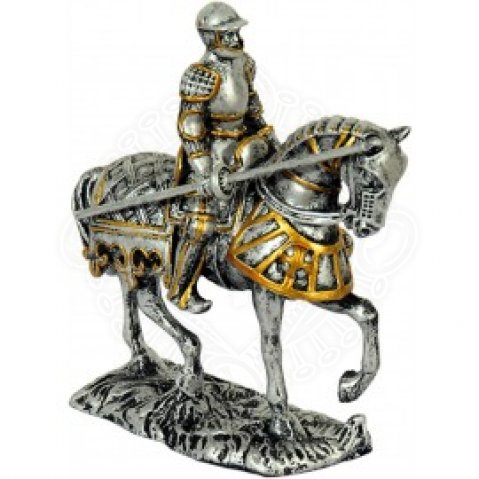 Tournament Knight on the Horse, statuette