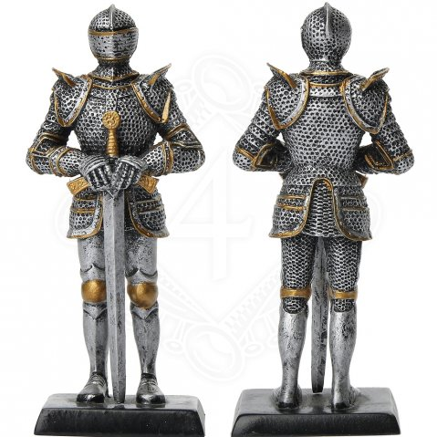 Figure of late-medieval knight