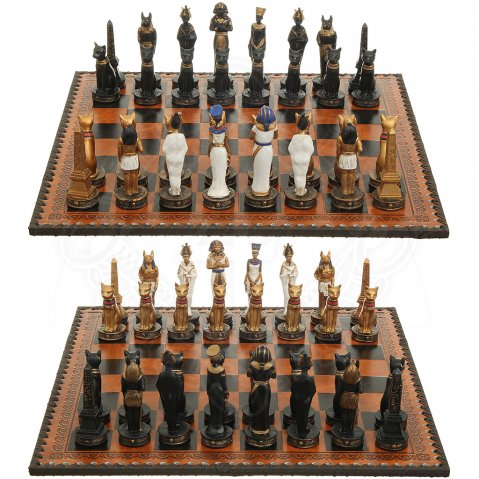 Chess Set Egyptian gods